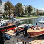 Судомоделисты на Чёрном озере в Казани