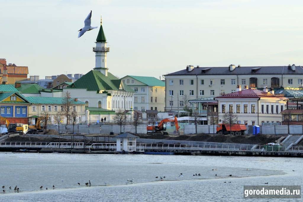 Между тем природа полным ходом готовится к пришедшей весне. Казань, Средний Булак.