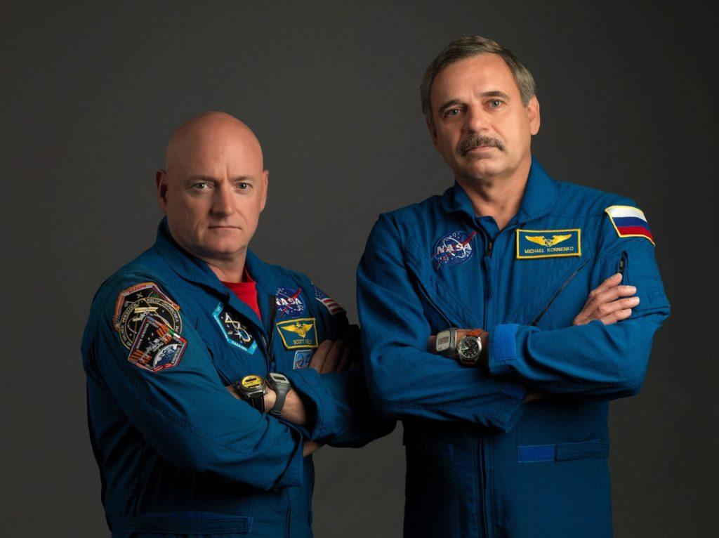 Скотт Келли (США) и Михаил Корниенко (Россия). Фото: roscosmos.ru