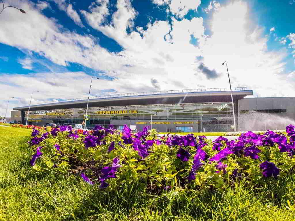 Вид на терминал аэропорта Казань/Фото пресс-службы аэропорта