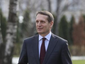 Директор Службы внешней разведки Российской Федерации Сергей Нарышкин. Источник: архив СВР